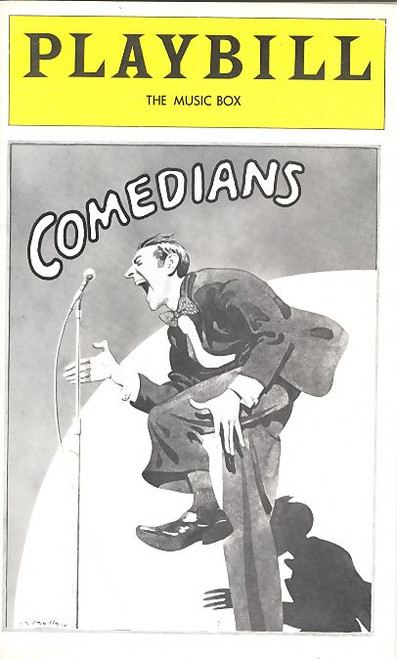 Comedians is a play by Trevor Griffiths, set in a Manchester evening class for aspiring working-class comedians. It was first performed at the Nottingham Playhouse on 20 February 1975, in a production directed by Richard Eyre.