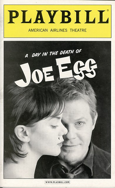 A Day in the Death of Joe Egg is a 1967 play by English playwright Peter Nichols, first staged at the Citizens Theatre in Glasgow, Scotland before transferring to London's West End theatres in 1968