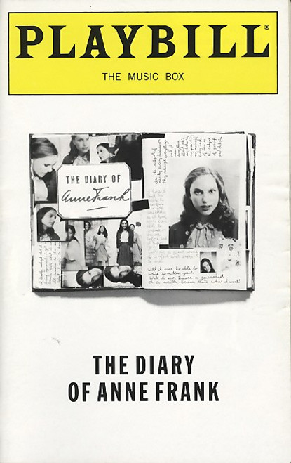 The Diary of Anne Frank is a stage adaptation of the book The Diary of a Young Girl. The play is a dramatization by Frances Goodrich and Albert Hackett.