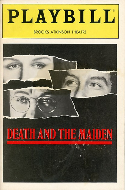 Death and the Maiden is a 1990 play by Chilean playwright Ariel Dorfman. The world premiere was staged at the Royal Court Theatre in London on 9 July 1991, directed by Lindsay Posner.