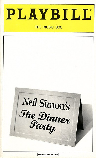 The Dinner Party is an original one-act play written by Neil Simon. It tells the story of three divorced couples are brought together to a private dining room in a first-rate restaurant in Paris