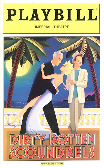 Dirty Rotten Scoundrels is a Broadway musical, with music and lyrics by David Yazbek and a book by Jeffrey Lane; it is based on the film of the same name