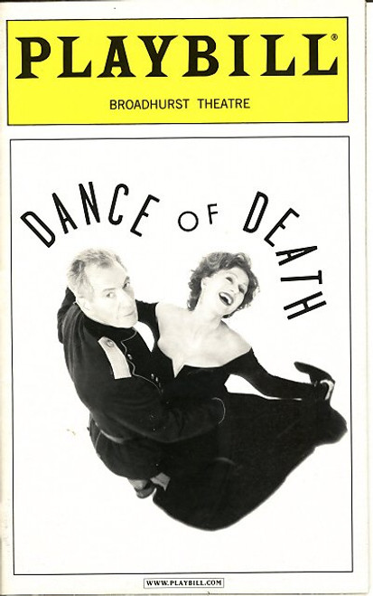 The Dance of Death (Dödsdansen) is a play in two parts written by August Strindberg in 1900. Dance of Death was written by August Strindburg (1849-1912)