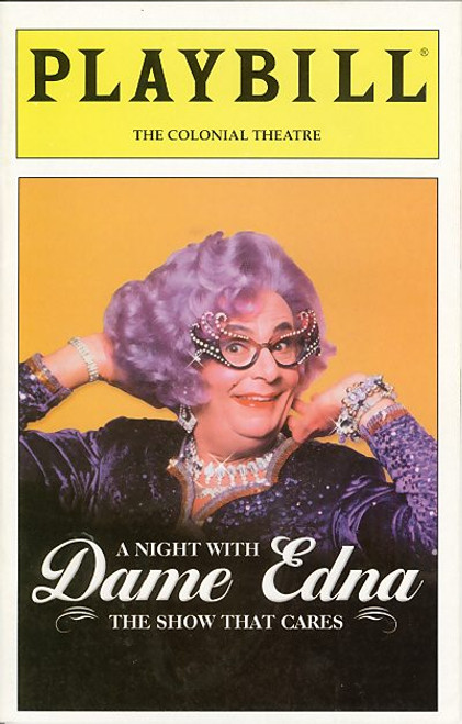 Dame Edna Everage is a character played by Australian dadaist-comedian Barry Humphries. As Dame Edna, Humphries has written several books including an autobiography, My Gorgeous Life