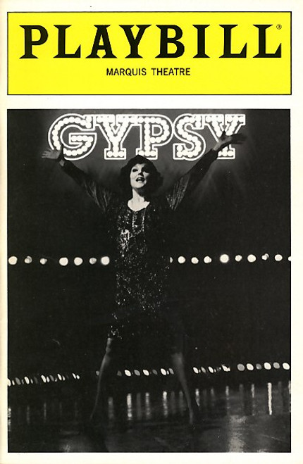 Gypsy is a musical with music by Jule Styne, lyrics by Stephen Sondheim, and a book by Arthur Laurents. Gypsy is loosely based on the 1957 memoirs of Gypsy Rose Lee