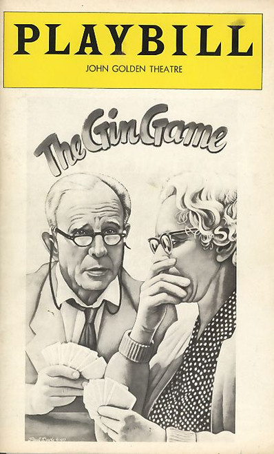 The Gin Game is a two-person, two-act play by D.L. Coburn that premiered at American Theater Arts in Hollywood in September 1976, directed by Kip Niven. It was Coburn's first play, and the theater's first production.