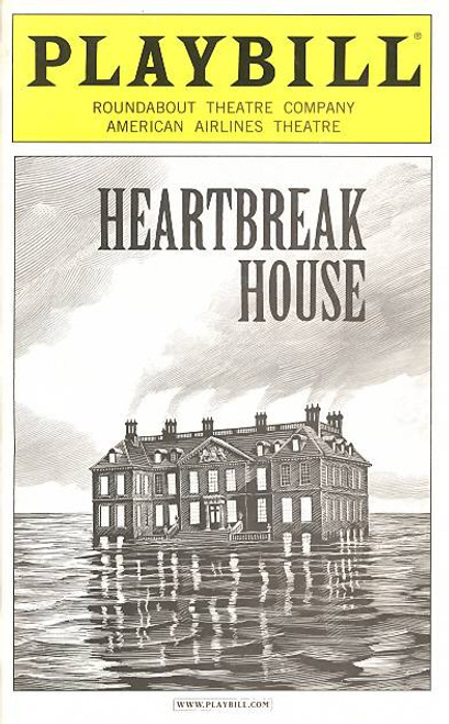 Heartbreak House is a play written by George Bernard Shaw, first published in 1919 and first played at the Garrick Theatre (New York) in 1920.