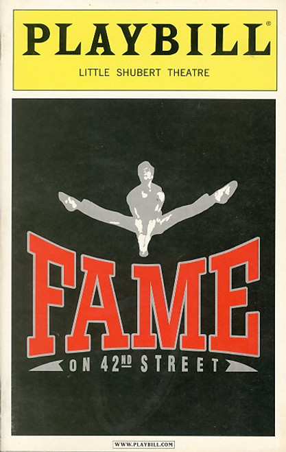 Fame: A stage musical based on the 1980 musical film Fame has been staged under two titles. The first, 'Fame – The Musical' conceived and developed by David De Silva, is a musical with a book by Jose Fernandez