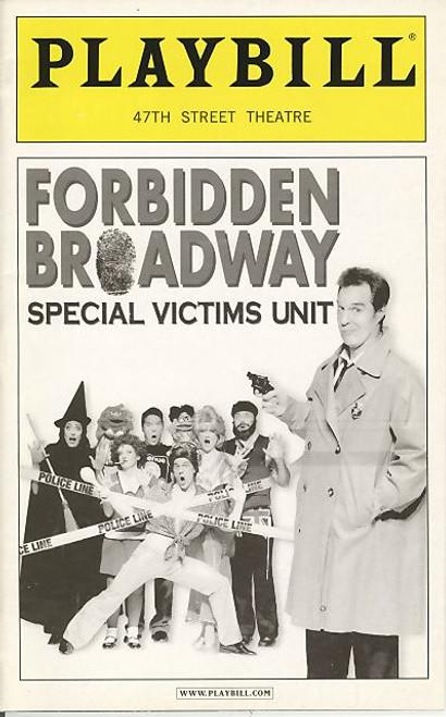 Forbidden Broadway Special Victims Unit (Sept 2005) Megan Lewis - The 47th Street Theatre