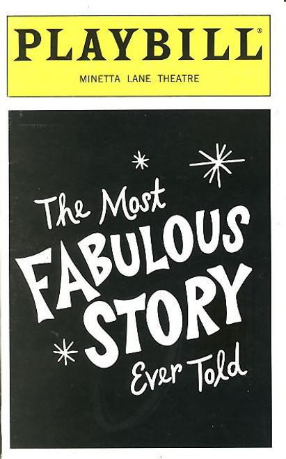 The Most Fabulous Story Ever Told (May 1999) Jesse Tyler Ferguson,  Jay Goede - Minetta Lane Theatre