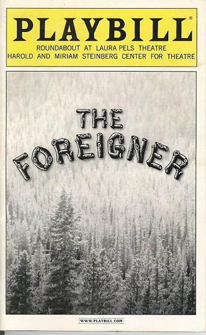 The Foreigner (Dec 2004) Matthew Broderick, Frances Sternhagen Roundabout Laura Pels Theatre