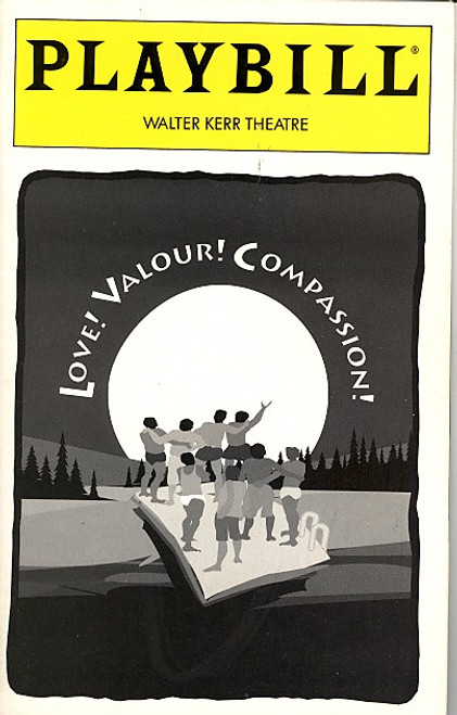 Love! Valour! Compassion! (May 1995) John Glover,  Anthony Heald Walter Kerr Theatre