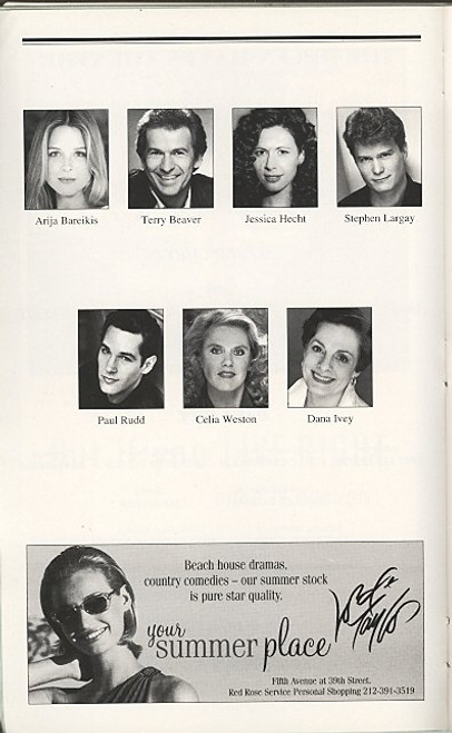 The Last Night of Ballyhoo (May 1997) Jessica Hecht, Celia Weston - Helen Hayes Theatre