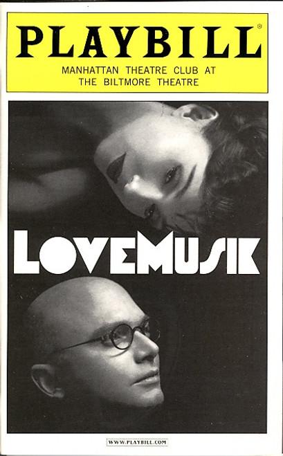 LoveMusik (May 2007) Michael Cerveris Manhattan Theatre Club at the Biltmore Theatre