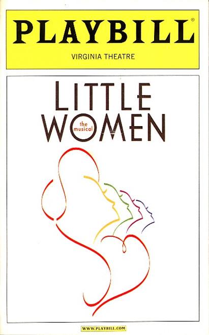 Little Women (Dec 2004) Sutton Foster, Maureen McGovern, Janet Carroll, Danny Gurwin - Virginia Theatre