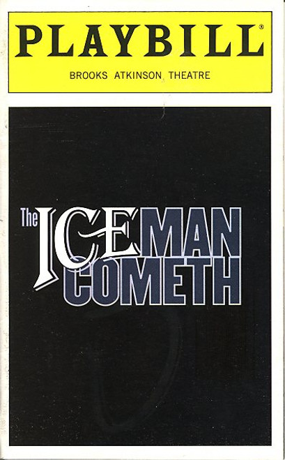The Iceman Cometh (Apr 1999) Kevin Spacey, Tony Danza, Robert Sean Leonard Brooks Atkinson Theatre - Kevin Spacey has autographed cast page