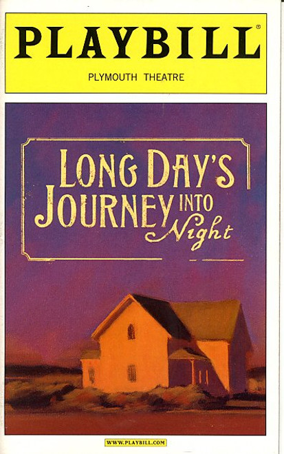 Long Days Journey into Night (May 2003) By Eugene O'Neill - Vanessa Redgrave Plymouth Theatre
