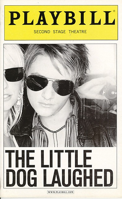 The Little Dog Laughed (Jan 2006) Johnny Galecki, Neal Huff Second Stage Theatre