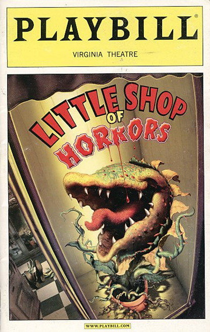 Little Shop of Horrors (Sept 2003) Hunter Foster, Kerry Butler, Michael-Leon Wooley Virginia Theatre