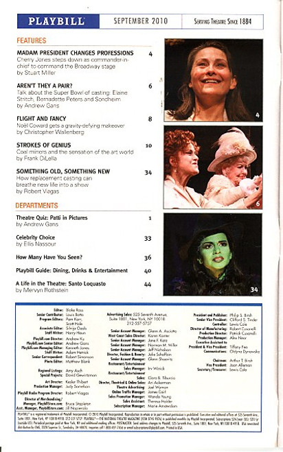 A Life in the Theatre by David Mamet (Sept 2010) Patrick Stewart, T.R. Knight Gerald Schoenfeld Theatre