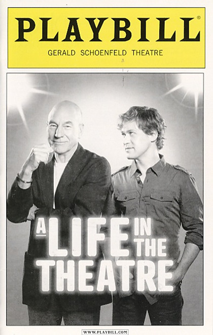 A Life in the Theatre by David Mamet (Sept 2010) Patrick Stewart, T.R. Knight Gerald Schoenfeld Theatre