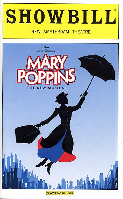 Mary Poppins (Dec 2007) Ashley Brown, Gavin Lee, Daniel Jenkins, Rebecca Luker New Amsterdam Theatre