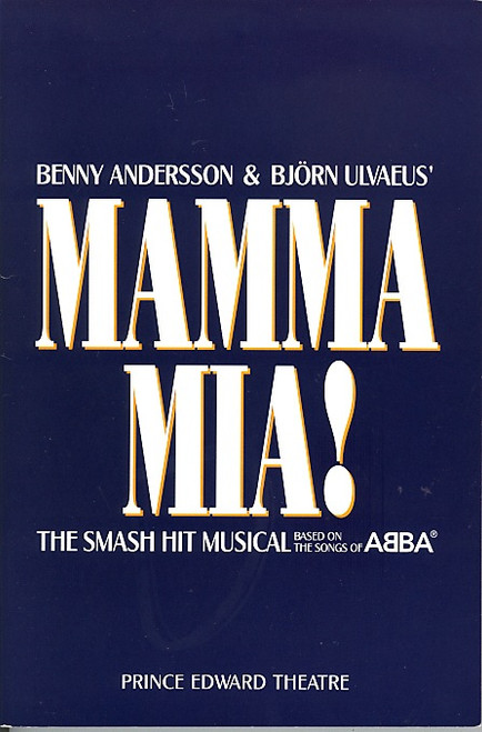 Mamma Mia (London 2002) Louise Plowright, Simon Slater, Laura Michelle Kelly, Paul Basleigh Prince Edward Theatre