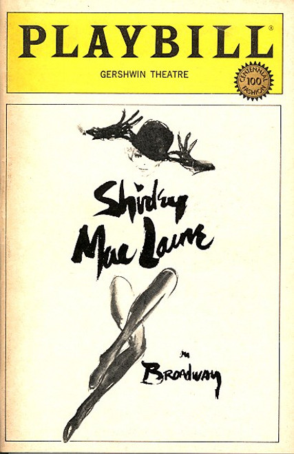 Shirley Maclaine on Broadway (May 1984)   - Gershwin Theatre