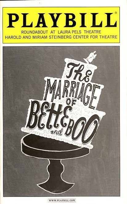 The Marriage of Bette and Boo (Aug 2008) Kate Jennings Grant, Christopher Evan Welch Laura Pels Theatre