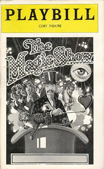 The Magic Show (Dec 1978) Michael Leeds, Kevin Marcum, Cindy Cobitt, Ramona Brooks Cort Theatre Broadway
