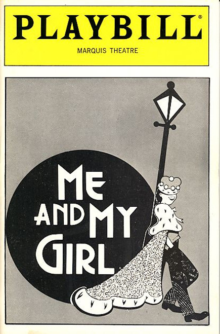 Me and My Girl (Sept 1986) Robert Lindsay, Maryann Plunkett, George S Irving, Jane Connell Marquis Theatre