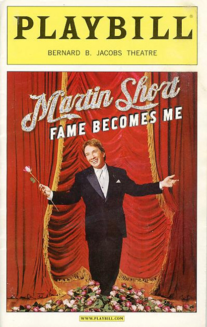 Martin Short Fame Becomes Me (17 Aug 2006) Martin Short  - Bernard B Jacobs Theatre