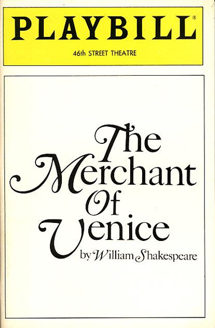 The Merchant of Venice (Jan 1990) William Beckwith - Forty-Sixth Street Theatre