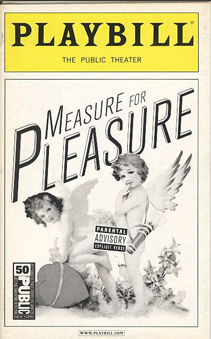Measure for Pleasure (Feb 2006) Suzanne Bertish, Susan Blommaert, Frederick Hamilton The Public Theatre