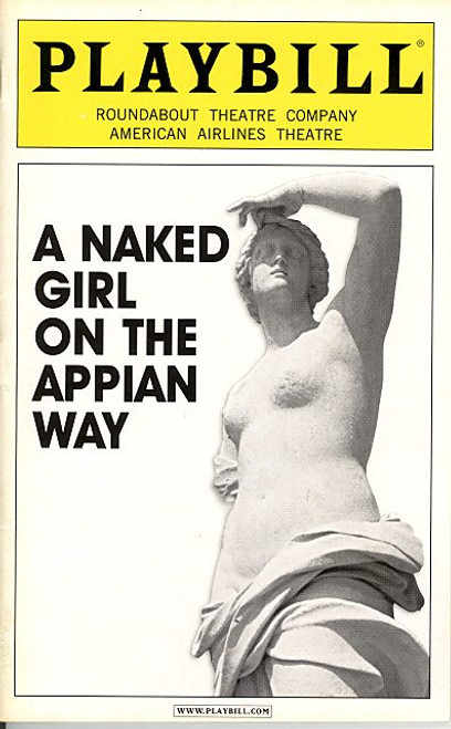 A Naked Girl on the Appian Way (Sept 2005) Jill Clayburgh - Richard Thomas, and Matthew Morrison. American Airlines Theatre