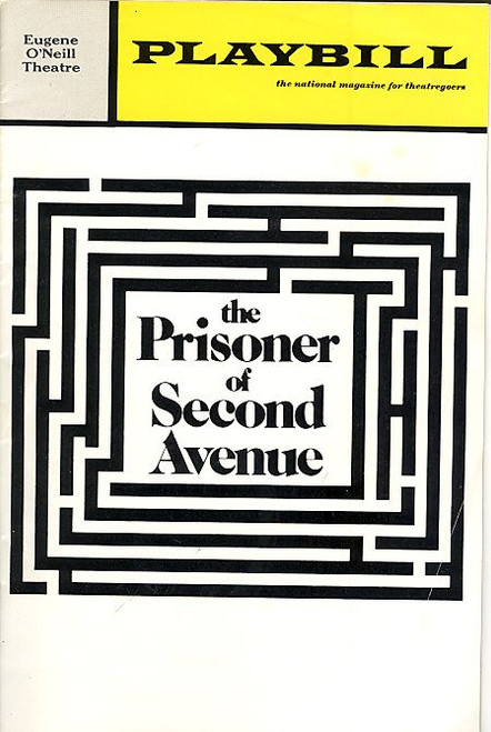 The Prisoner of Second Avenue (March 1972) Peter Falk, Lee Grant Eugene O'Neill Theatre