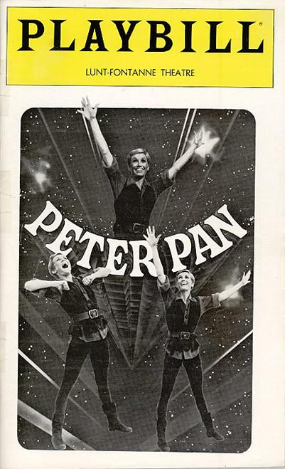 Peter Pan (Nov 1979) Sandy Duncan, Christopher Hewett Lunt Fontanne Theatre