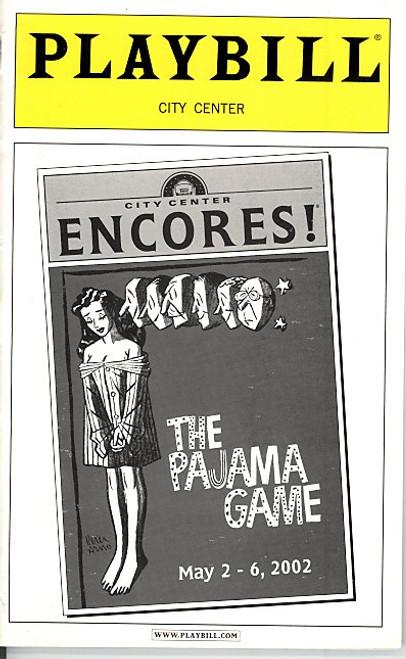 The Pajama Game Encores (May 2002) Brent Barrett, Karen Ziemba City Center