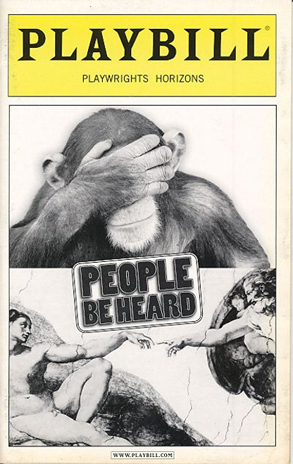 People Be Heard (Sept 2004) Guy Boyd, Funda Duval - Playwrights Horizons