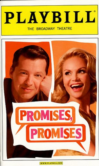 Promises, Promises (April 2010) Sean Hayes, Kristin Chenoweth Broadway Theatre