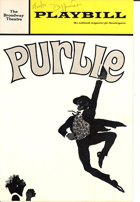 Purlie (May 1970) Cleavon Little, Melba Moore, John Heffernan Broadway Theatre