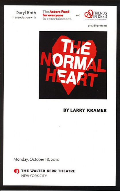The Normal Heart (Oct 2010) Patrick Wilson - Walter Kerr Theatre