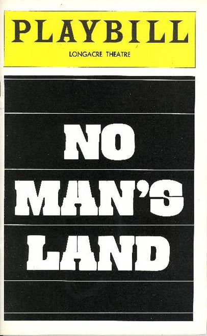No Man's Land (Nov 1976) John Gielgud, Ralph Richardson