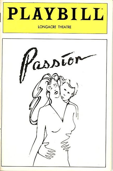 Passion (Jun 1983) Frank Langella, Cathryn Damon, Bob Gunton, E. Katherine Kerr Longacre Theatre