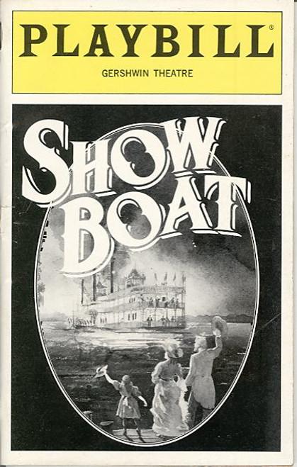 Showboat (Dec 1996) Hugh Panaro, John McMartin, Carole Shelly Gershwin Theatre