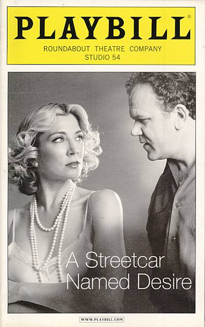 A Streetcar Named Desire (Apr 2005) Natasha Richardson, John C Reilly, Amy Ryan Studio 54