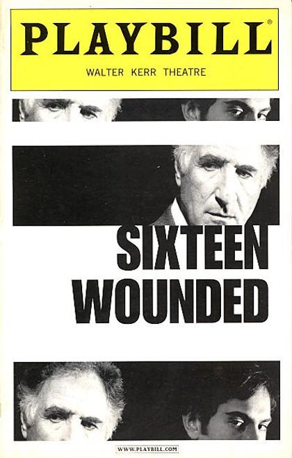 Sixteen Wounded (Mar 2004) Judd Hirsch, Omar Metwally, Martha Plimpton Walter Kerr Theatre