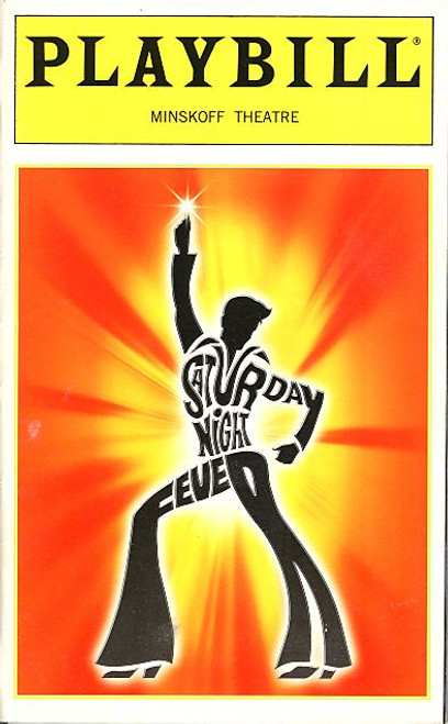 Saturday Night Fever (Oct 1999) James Carpinello, Paige Price - Minskoff Theatre