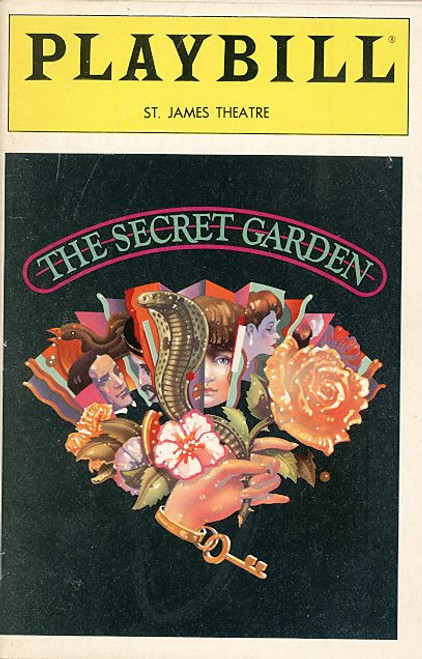 The Secret Garden (May 1991) Mandy Patinkin - St James Theatre