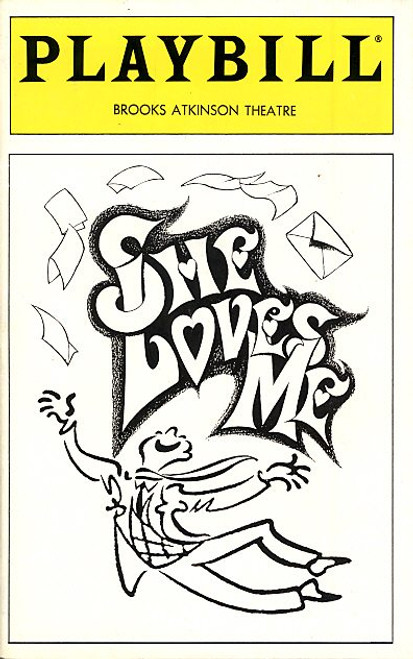 She Loves Me (Dec 1993) Boyd Gaines, Diane Fratantoni, Sally Mayes Brooks Atkinson Theatre
